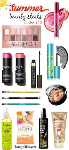 Must-Have Summer Drugstore Beauty Buys