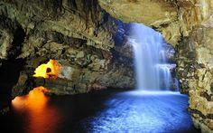 smoo cave | Smoo Cave Falls wallpaper