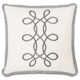 Found it at Wayfair - Edith Baldwin with Braid / Ribbon Accent Pillow
