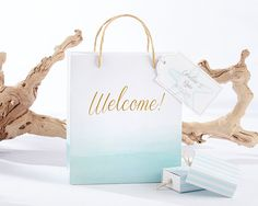 Our Beach Tides Wedding Welcome Bags are the perfect way to thank your guests…