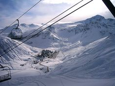 Tignes, one of my very favourite places