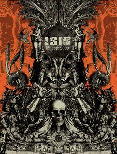 ☆ Isis.。Illustration Art By :→: Seldon Hunt ☆