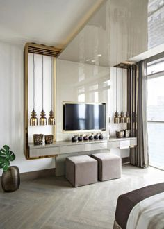 Kelly Hoppen is one of greatest interior design inspirations of all times. Her home projects are an unbelievable source of luxury interior design ideas Top Interior Designers, Home Interior Design, Interior Architecture, Interior Livingroom, Kitchen Interior, Best Interior, Luxury Interior, Luxury Furniture, Modern Furniture