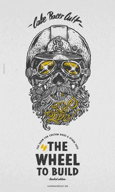 ''Ride To Live'' Limited Edition Poster 4 The Wheel To Build