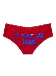 Atlanta Braves Perfect Pink Hipster Panty - Victoria's Secret Pink® - Victoria's Secret