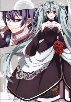 Miku and Kaito, Vocaloid