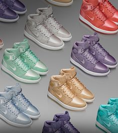 watch 88ed7 7d964 Explore and buy the Womens Air Jordan 1 High Season of Her Collection.