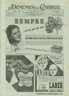 Domenica del Corriere - 17 / 23 Marzo 1940 by Illustrated History - Domenica del Corriere, via Flickr