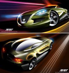 Peugeot Design by Hussein Al-Attar