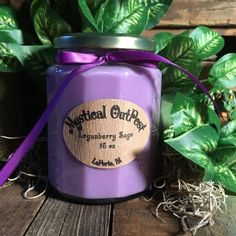 Loganberry Sage 16 oz Soy Candle