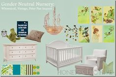 I dreamed of the ideal nursery well before I found out I was pregnant. I had my heart set on a whimsical, somewhat vintage, Peter Pan themed. Peter Pan Nursery, Baby Nursery Neutral, Nursery Design, Gender Neutral, Cribs, Toddler Bed, Room, Inspiration, Furniture