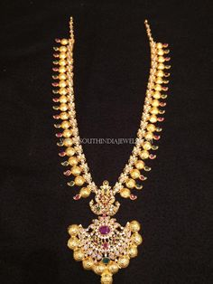 22k Gold haram designs in 40 grams. Find more stunning collections on our catalogue!