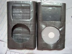 duct tape iPod case kids craft project