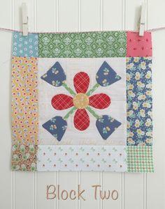 Bee In My Bonnet: BLOOM Sew Along - Week Two - Block Two!!