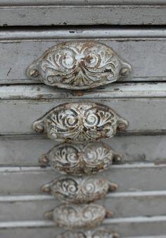 grey silver drawer handles pull hardware