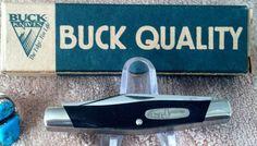 BUCK QUALITY 2000 CADET 303 USA POCKET KNIFE