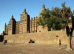 Djenne mosque, Mali - on economist.com