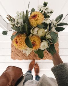 almost fall bouquet