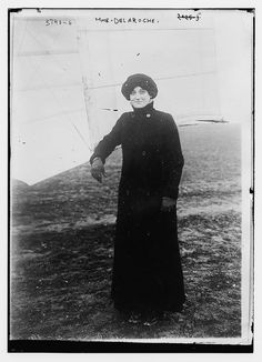 Raymonde de Laroche (22 August 1882 – 18 July 1919), born Elise Raymonde Deroche, was a French pilot and the first woman in the world to receive an aeroplane pilot's licence