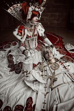 Trinity Blood: Esther x Alessandro