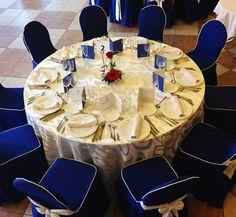 Mesa centro de celebración en El Palmeral