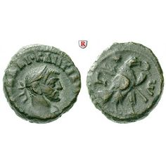 Römische Provinzialprägungen, Ägypten, Alexandria, Diocletianus, Tetradrachme Jahr 5 = 288-289, ss: Ägypten, Alexandria.… #coins