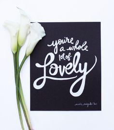lovely..