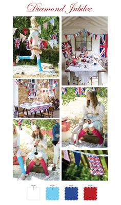 British Diamond Jubilee Inspiration from Torie Jayne