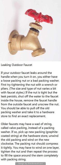 Woodford Model 17 - Outdoor Water Faucet Repair - YouTube | Repairs ...