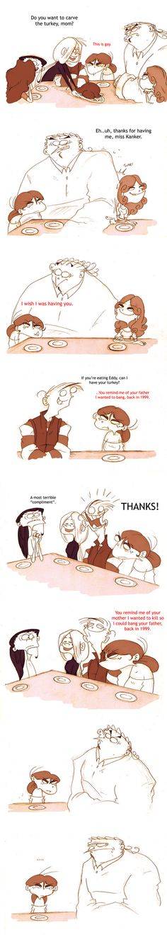Dinner With The Kankers PART 2 by VampireMeerkat on DeviantArt