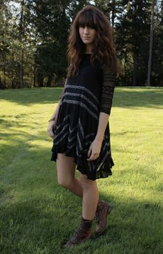 Voile and Lace Trapeze Slip style pic on Free People. Such a pretty dress!!!