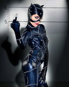 Catwoman attitude