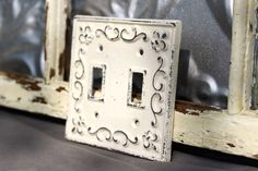 Here we have come up with some ideas of decorative light switch covers that are artistically improved at home. So it's your time to try out your hand.