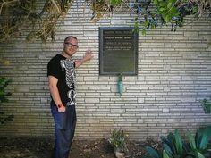 Walt Disney's Grave. (No, he wasn't frozen).  Forest Lawn Cemetery, California
