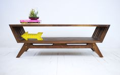 Midcentury Modern Walnut Coffee Table Modern by moderncre8ve