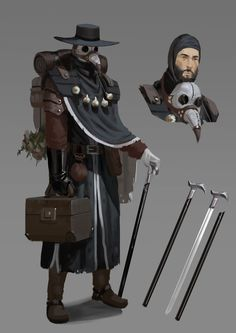 Fantasy Character Design, Character Creation, Character Design Inspiration, Character Concept, Character Art, Dungeons And Dragons Characters, Dnd Characters, Fantasy Characters, Plauge Doctor