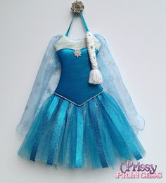 Elsa tutu bow holder #frozen #disney