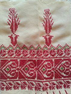 Palestinian embroidery pattern _ تطريز فلسطيني