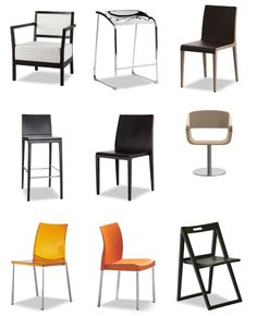 Wide range of durable, high quality contemporary chairs for restaurants, cafes and other venues. Factory-direct pricing at our Miami Showroom, call 305-697-2217 for more info.