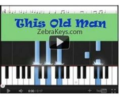 Learn Nursery Rhymes - This Old Man - fun activities for kids.