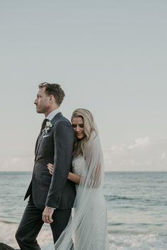 Beautiful Seaside Sophisticated Wedding Photo - Lucas & Co Photography