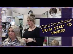 Synthetic Wig Consultation for Client in Chemo ft. Jon Renau, Noriko, Rene of Paris, Tony of Beverly Jon Renau, Wig Styles, Synthetic Wigs, Hair Pieces, Meet, Paris, Youtube, Image, Extensions Hair