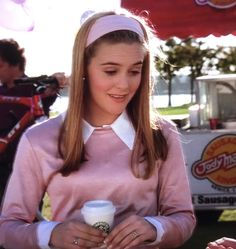 Cher Clueless, Clueless Fashion, Clueless Outfits, 2000s Fashion, Cute Outfits, Fashion Outfits, Clueless Aesthetic, Cher Horowitz, Beautiful Young Lady