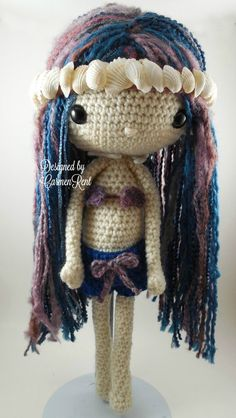 Sabrina  Amigurumi Doll Crochet Pattern