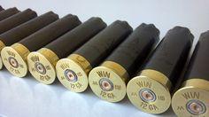 12 Gauge Winchester empty Shotgun Shells, to fill with rock salt!