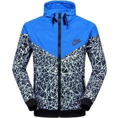 Women's Nike Windrunner print all over athletic Jacket Size Medium #Nike #Windbreaker