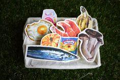食物貼紙營養補充包8入 - 設計師 冰菓室 - Pinkoi