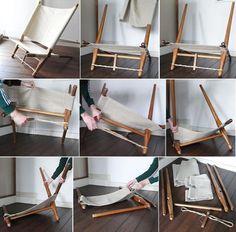Ole gjerlov-knudsen / Saw chair assembly instructions