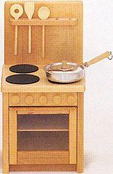 ドイツ製 木のおもちゃ ままごとキッチン バウアー社 木製玩具 ミニキッチンセット ごっこ遊び 遊具