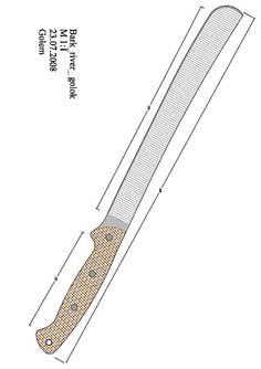 bckk.pdf - OneDrive Survival Supplies, Survival Gear, Survival Skills, Homemade Forge, Knife Patterns, Pdf Patterns, Knife Drawing, Knife Template, Knife Handles